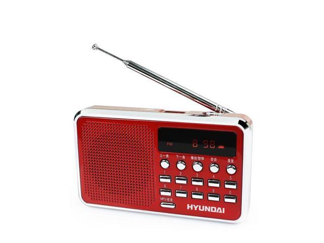 Promotional Modern H10 small speaker card portable radios elderly Morning broadcast digital song selection