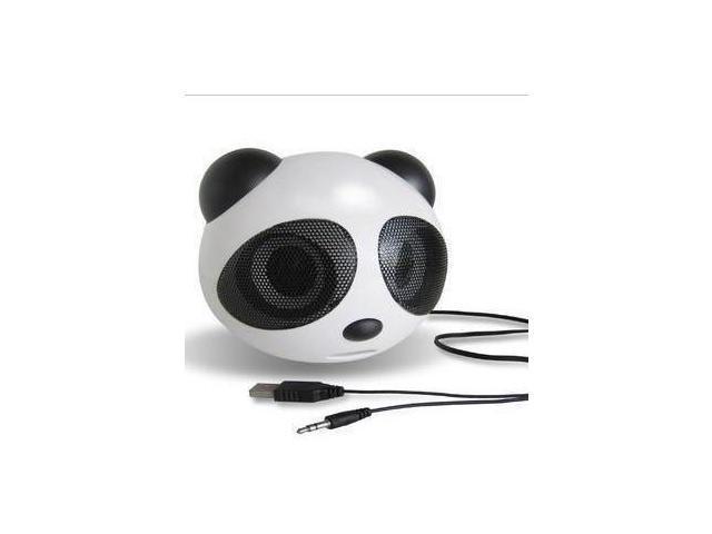 Creative cute cartoon pandas small portable mini speaker stereo subwoofer mobile computers dual speakers