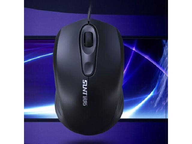 New USB Optical Mouse 1000DPI precise positioning with heavier blocks A19