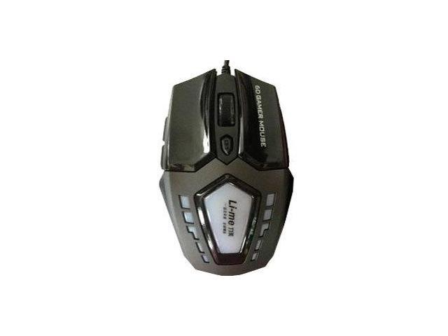 Authentic force US X6 USB mouse wired mouse game mouse laptop mouse blue