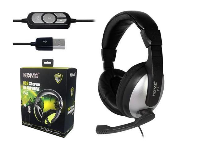 Karma B2 ear headset USB headset microphone desktop notebook PC Headphones / Headsets