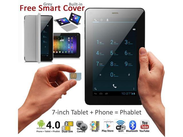 7in Android 4.2 Smart Phone Tablet PC Bluetooth WiFi Google Play Store UNLOCKED!