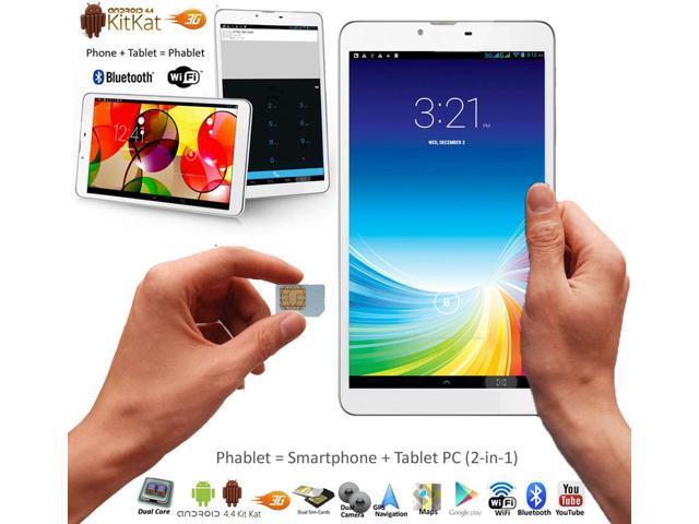 Indigi® 2-in-1 Tablet PC + Unlocked 3G Phone 7