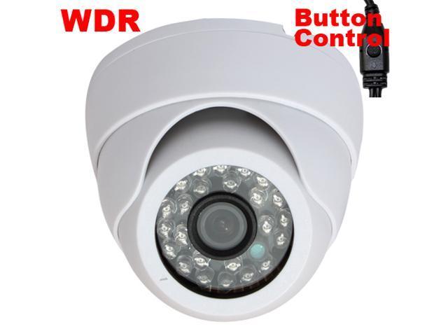 GW Sony CCD 600 TVL 3.6mm Lens 26 PCs IR LED Dome CCTV Surveillance Indoor Security Camera WDR OSD Menu