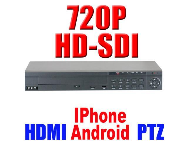 GW 8 Channel 720P HDMI Video Realtime Standalone DVR Motion Detection iPhone Android Compatible High Definition Surveillance CCTV Security Camera ...