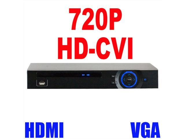 GW 8 Channel 720P HDCVI Standalone Recorder (2TB HDD) 30 Fps Real Time Motion Detection iPhone Android Compatible High Definition Surveillance ...