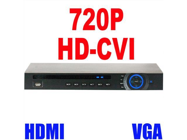 GW 16 Channel 720P HD CVI Standalone Recorder (4TB HDD) 30 Fps Real Time Motion Detection iPhone Android Compatible High Definition Surveillance ...