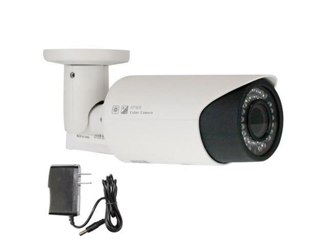 GW 1000 TVL Varifocal 2.8~12mm Lens (Adjusting Knobs Located Inside of Cap) 114 Feet IR Distance Sony CMOS Weather Proof Indoor & Outdoor CCTV ...