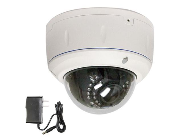 GW 850 TV Line Color Sony CMOS Varifocal 2.8~12mm Lens 30PCs IR LEDs Outdoor & Indoor Suveillance CCTV Dome Security Camera with Power Adapter ...