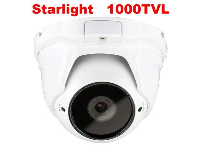 GW Starlight Eyeball Camera 1000 TVL Color Night Vision 1.3 MegaPixel Sony Exmor CMOS Sensor 4mm Megapixel Lens Motion Detective Sensor Low Power ...