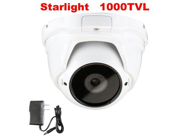GW Starlight Eyeball Camera 1000 TVL Color Night Vision Sony CMOS Sensor 4mm Megapixel Lens Motion Detective Sensor Low Power Consumption CCTV ...