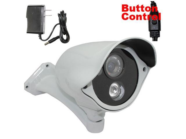 GW 700 TVL Sony CCD 8mm Lens 164 feet IR Distance Third Generation Arrays InfraRed LED Vandal Proof & Water Proof Outdoor and Indoor CCTV ...