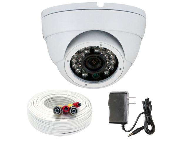 GW Color Sony CMOS 700 TVL 3.6mm Lens 24PCS Infrared LED 49 feet IR Distance CCTV Surveillance 700TVL Indoor Dome Security Camera with 100 Feet ...