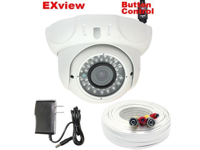 GW 700 TVL Sony EXview HAD CCD II 3.6mm lens 36pcs IR LED 98 Feet IR Distance Metal Vandal Proof WDR OSD Menu Surveillance CCTV ...