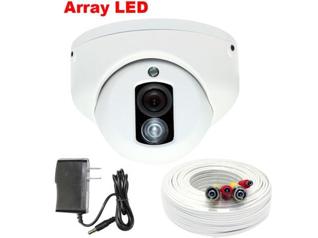 GW 700 TVL Sony CCD 3.6mm Lens Array IR LED 82 Feet IR Range Day & Night Vision Indoor CCTV Surveillance Dome Security Camera with ...