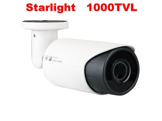 GW Starlight Technology 1000 TVL Camera Color Night Vision 1.3 MegaPixel Sony Exmor CMOS Sensor 6mm Megapixel Lens Motion Detective Sensor Low ...