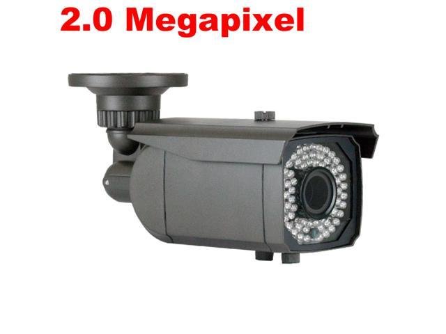 GW CVI Technology Camera 2.0 Megapixel 1080P Full HD Sony CMOS Adjustable 22~115 Degrees Viewing Angle 145 Feet Night Vision Range Built-in OSD ...