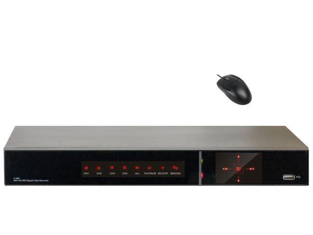 GW 4 Channel HD-SDI DVR Realtime 1080P Recording + Realtime 1080P Playback Motion Detective Security Camera Digital Video Recorder Compatible ...