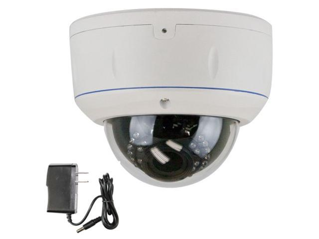 GW807H 1000 TVL SONY CMOS 2.8~12mm Manual Varifocal lens 30 IR LEDs 65 feet IR Distance Surveillance CCTV Indoor Dome Security Camera with Power ...