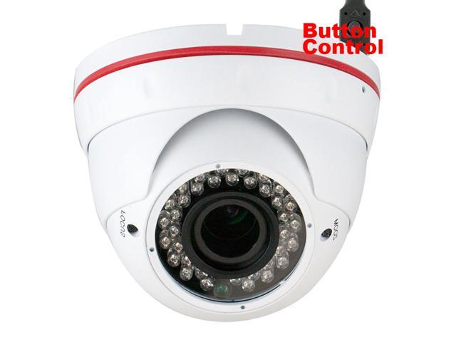 GW752WD Color SONY CMOS 1000 TV Lines Security Camera 2.8~12mm Manual Varifocal Lens 36PCS Infrared LED 82 feet IR Distance. 0.01 Lux/F1.2 ...