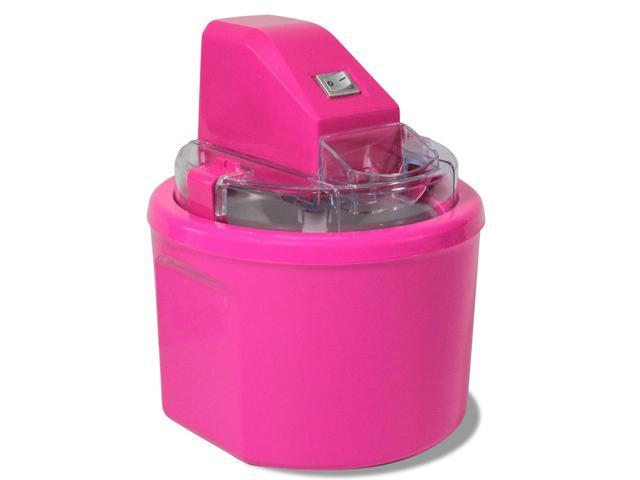 Cooks Essentials Ice Cream Maker Fully Automatic Ice Cream Maker Color Pink