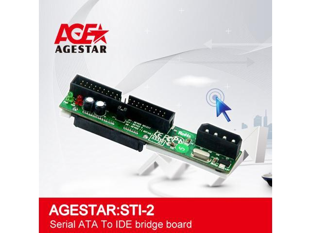 Agestar Serial ATA TO IDE Bridge Board,SATA to IDE converters,HDD enclosure,HDD briedge board.
