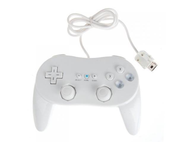 Classic Pro Controller for Nintendo Wii Game Remote White