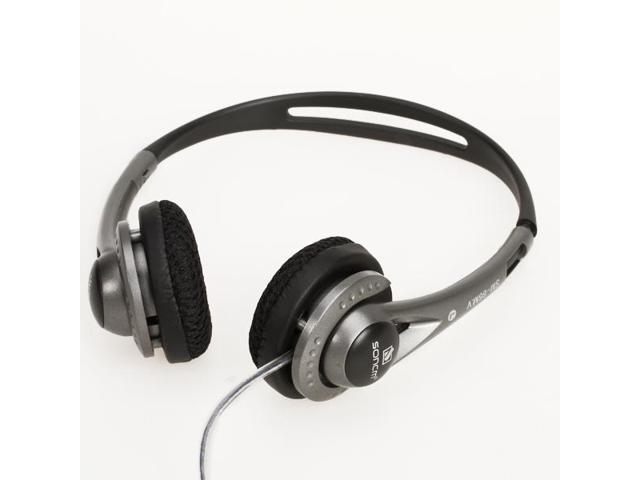 3.5mm Dynamic Bass Headphone with Volume Control and Mic for PC/CD/ MP3/MP4
