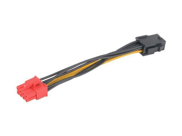 AKASA AK-CB052 Power adapter - 6 pin PCI Express power to 8 pin PCI Express power - 10 cm