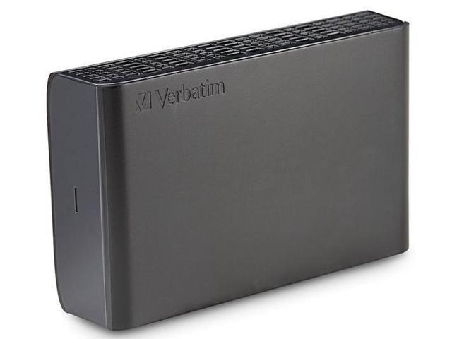 VERBATIM Store 'n' Save external hard drive - 4 TB, black