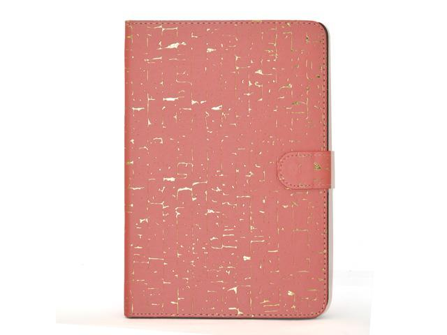 Apexel Ancient Words Pattern Special New Good Quality Leather Protective Cover for iPad Mini/ iPad Mini 2 with Retina Display (2nd Generation) Red
