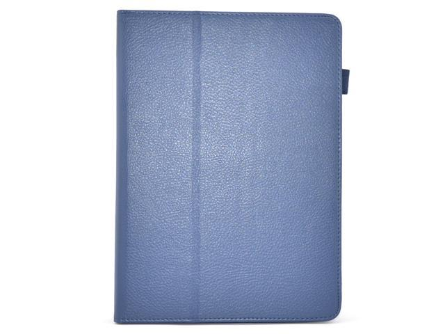 Apexel Folio Case - Slim Fit Leather Smart Cover with Auto Sleep / Wake Feature for iPad Air / iPad 5 Dark Blue