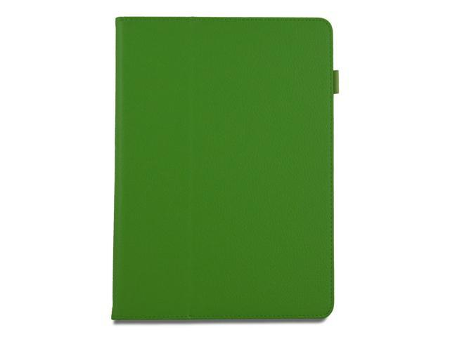 Apexel Folio Case - Slim Fit Leather Smart Cover with Auto Sleep / Wake Feature for iPad Air / iPad 5 Green