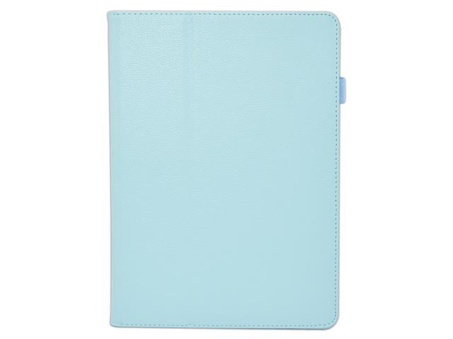 Apexel Folio Case - Slim Fit Leather Smart Cover with Auto Sleep / Wake Feature for iPad Air / iPad 5 Blue
