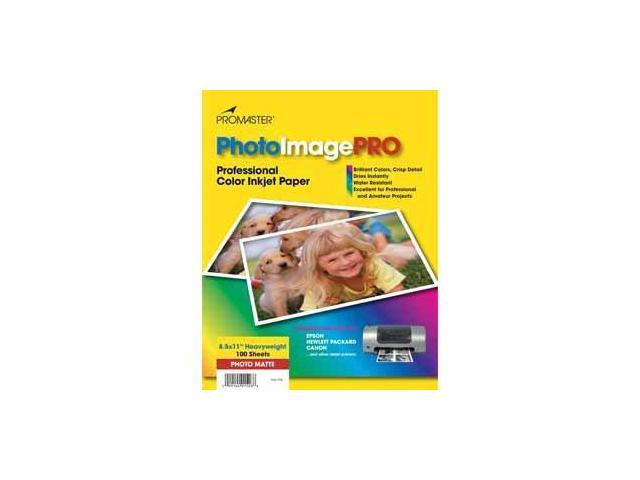PhotoImage PRO Matte Inkjet Paper 8.5 X 11, 100 Sheets