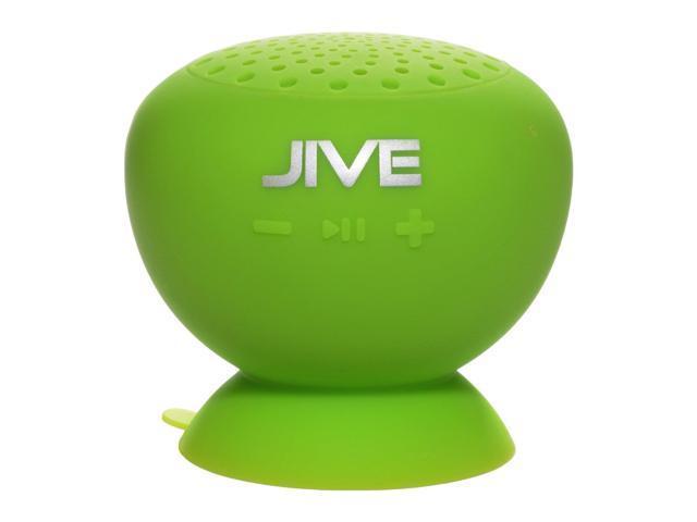 Digital Treasures 09013-PG Lyrix JIVE Water Resistant Bluetooth Speaker (Green)