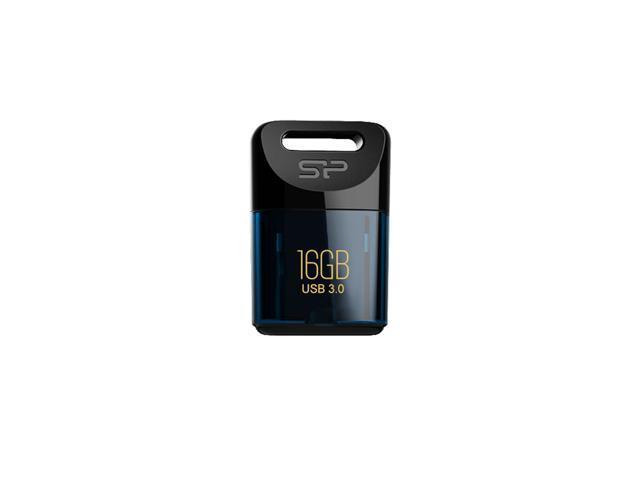 Silicon Power 16GB Jewel J06 USB 3.0 Tiny Waterproof Flash Drive Blue