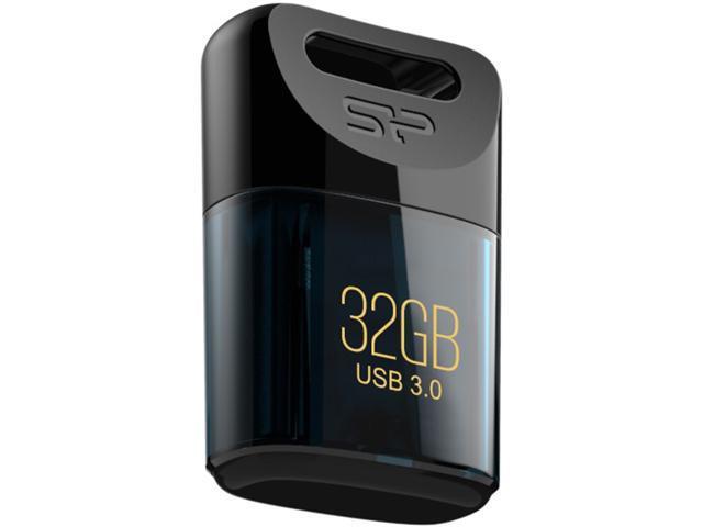 Silicon Power Jewel J06 32GB USB 3.0 Waterproof Flash Drive Blue