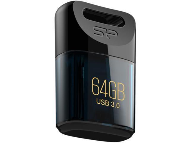 Silicon Power Jewel J06 64GB USB 3.0 Waterproof Flash Drive Blue