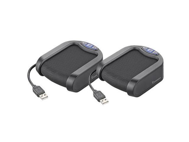 Plantronics 82136-02 Calisto P420 USB Speakerphone 2 Pack New