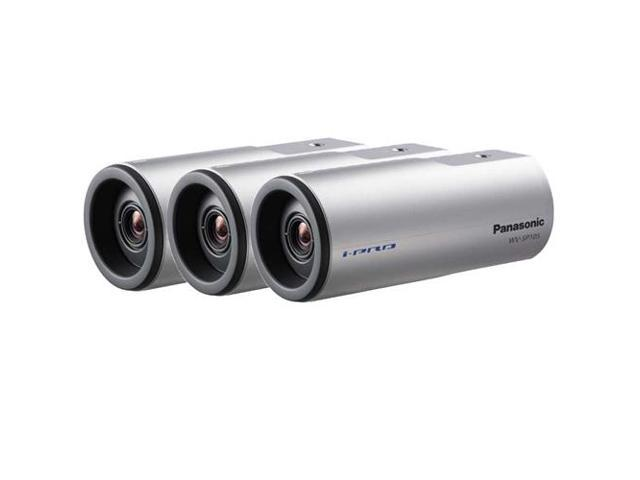 Panasonic WV-SP105 3 pack Indoor Bullet Camera