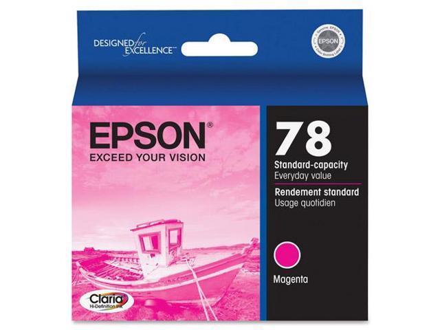 Epson T078320M Magenta Ink Cartridge For Epson Artisan 50 Inkjet And Stylus Photo Printers