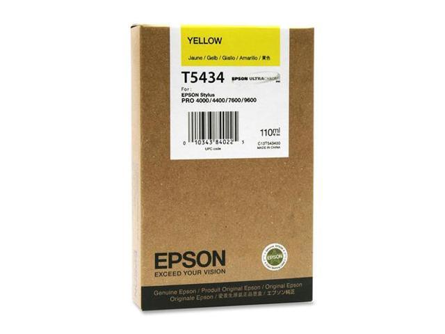 Epson T543400M Yellow UltraChrome Ink Cartridge For Epson Stylus Pro 4000 / 7600 / 9600.