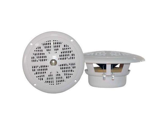 Pyle Audio PYLPLMR41Ww PYLE PLMR41W 4-Inch Dual Cone Waterproof Stereo Speaker System