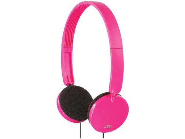 JVC JVCHAS140PP Lightweight On-Ear Headband Headphones