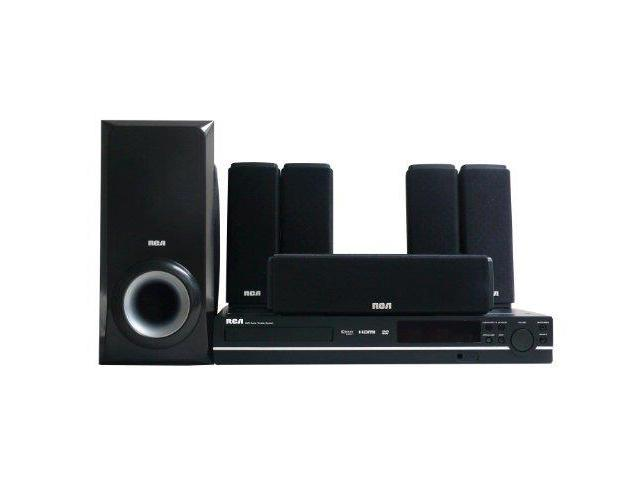 GE/RCA RCARTD317WB Rca Rtd317w Home Theater System With 1080p Upconvert Dvd