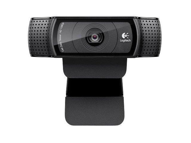logitech KV6672B Logitech HD Pro Webcam C920, 1080p Widescreen Video Calling and Recording