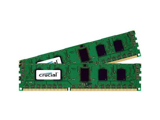 Crucial 2KIT51264BA160BM Crucial 8GB Kit (4GBx2) DDR3 1600 MT/s (PC3-12800) CL11 Unbuffered UDIMM 240-Pin Desktop Memory Modules CT2CP51264BA160B