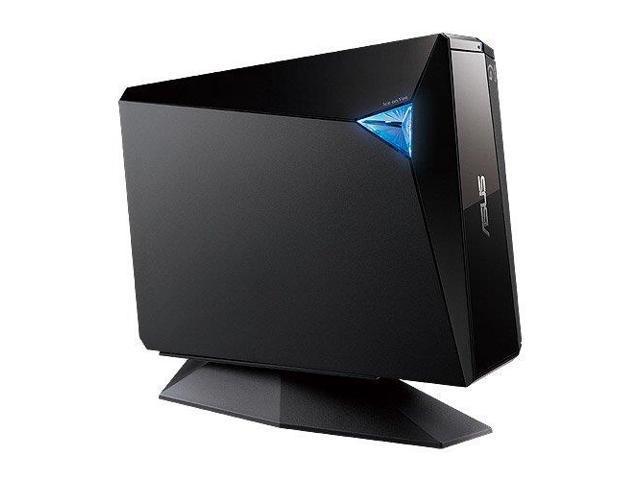 Asus BW12D1SUBLKGASB ASUS External 12X Blu-Ray Burner with USB 3.0 BW-12D1S-U/BLK/G/AS, Black