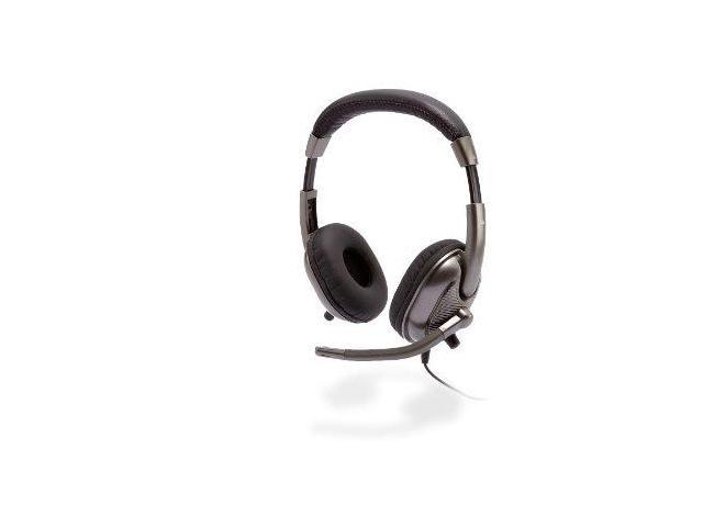 Cyber Acoustics AC8000B Cyber Acoustics AC-8000 Stereo Headset for Kids (Silver)